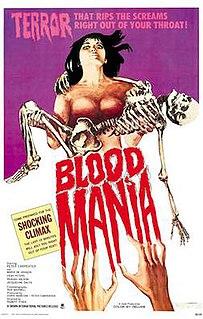<i>Blood Mania</i> 1970 film