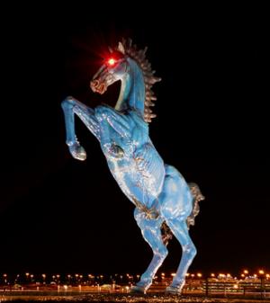 Blue Mustang - Blue Mustang