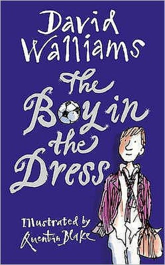 The Boy in the Dress (novel) - 1st hardback edition