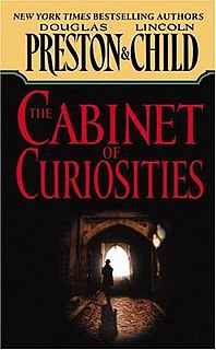 <i>The Cabinet of Curiosities</i> 2002 novel by Douglas Preston and Lincoln Child