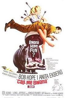 <i>Call Me Bwana</i> 1963 film by Gordon Douglas