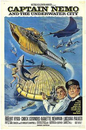 Captain Nemo and the Underwater City - Theatrical release poster