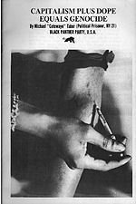 1970 BPP pamphlet combining an anti-drug message with revolutionary politics.