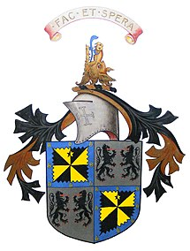 Arms of the Chief of {{{clan name}}}