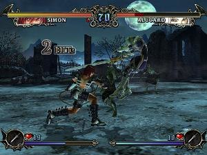 Castlevania Judgment - A fight in Castlevania Judgment.