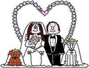 Cathy - Image: Cathy wedding