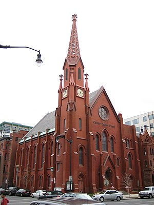 Adolf Cluss - Calvary Baptist Church in Washington, D.C.