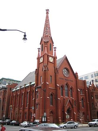 Adolf Cluss - Calvary Baptist Church in Washington, D.C.