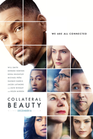 Collateral Beauty - Theatrical release poster
