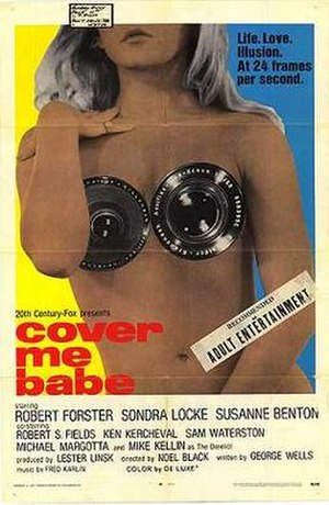 Cover Me Babe - Theatrical release poster