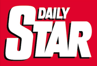 <i>Daily Star</i> (United Kingdom) British daily tabloid newspaper published by Reach plc.