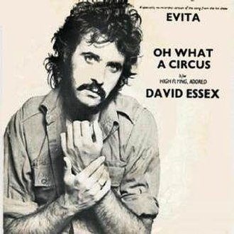 Oh What a Circus - Image: David Essex Oh What a Circus