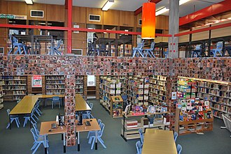 Davidson High School (New South Wales) - The School Library