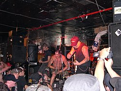 Dayglo Abortions playing at The Cobalt Hotel, Vancouver, BC, Canada
