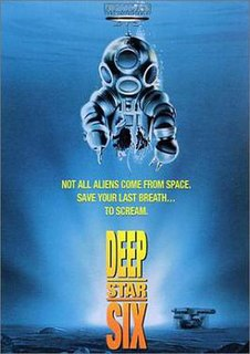 <i>DeepStar Six</i> 1989 American science fiction horror film by Sean S. Cunningham