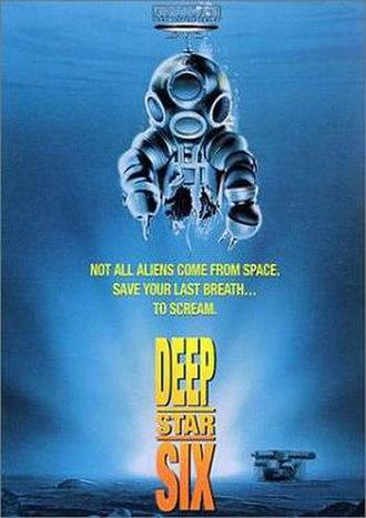 DeepStar Six - Original theatrical poster
