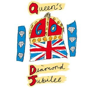 Diamond Jubilee 60 2012 logo