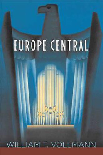 Europe Central - Front cover, hardback edition.