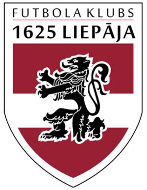FK 1625 Liepāja - Image: FK 1625 Logo