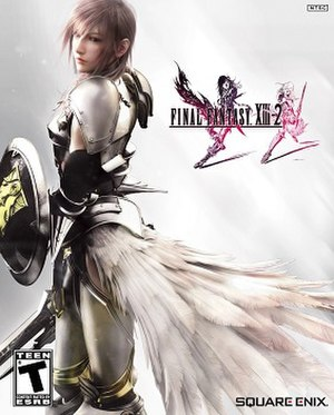Final Fantasy XIII-2 - Image: Final Fantasy XIII 2 Game Cover