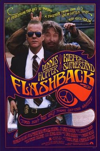 Flashback (1990 film) - Theatrical release poster