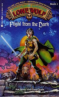 <i>Flight from the Dark</i> book by Joe Dever