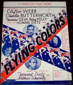 Flying Colors (musical) - Original Sheet Music