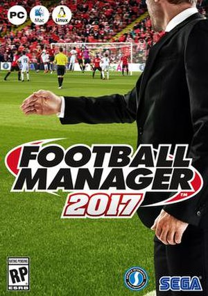 Football Manager 2017 - Image: Football Manager 2017 cover