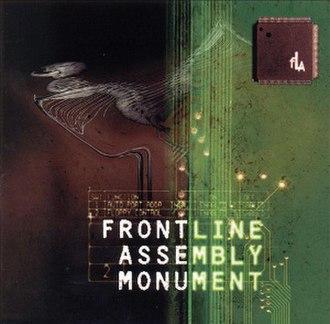 Monument (Front Line Assembly album) - Image: Front Line Assembly Monument Front Cover