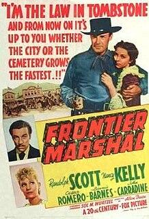 <i>Frontier Marshal</i> (1939 film) 1939 film by Allan Dwan