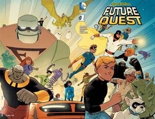 <i>Future Quest</i> DC Comics crossover comic book series
