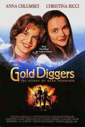 Gold Diggers: The Secret of Bear Mountain - Theatrical release poster