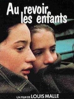 <i>Au revoir les enfants</i> 1987 autobiographical film directed by Louis Malle