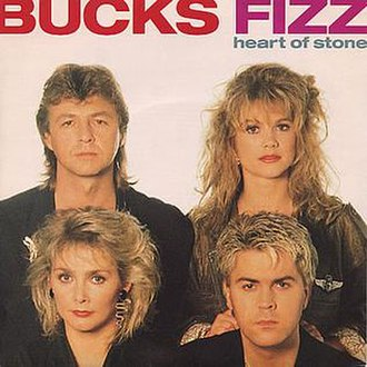 Heart of Stone (Bucks Fizz song) - Image: HOS Bucks Fizz