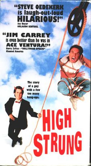 High Strung (1991 film) - The movie cover for High Strung