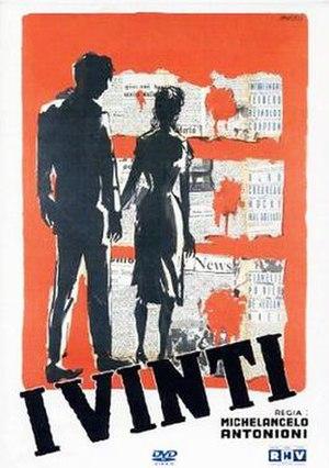 I Vinti - DVD cover