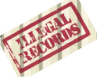 Illegal Records - Image: Illegal Records logo