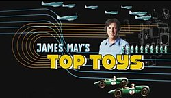 James May's Top Toys title card