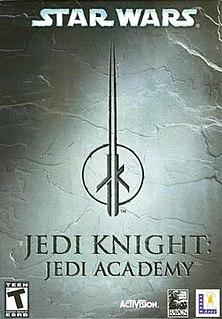 <i>Star Wars Jedi Knight: Jedi Academy</i> video game