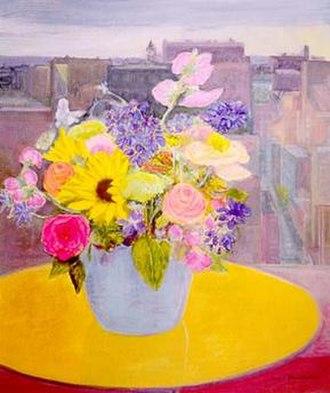 Jane Freilicher - Jane Freilicher, Champion Flowers, oil on linen, 1999, Tibor de Nagy