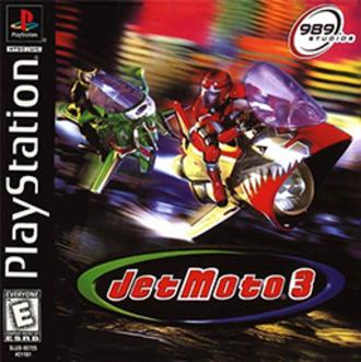 Jet Moto 3 - North America PlayStation Box Art