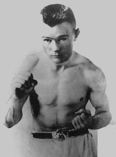 Johnny Buff American boxer