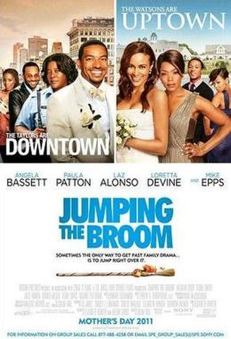 Jumping the Broom - Theatrical release poster