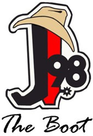 KTJJ - Image: KTJJ J98The Boot logo