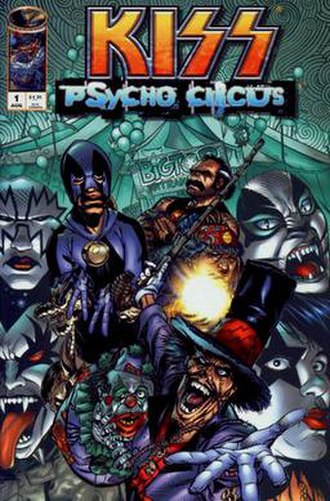Kiss: Psycho Circus - Cover of the first issue