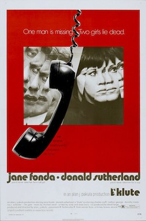 Klute - Film poster for Klute