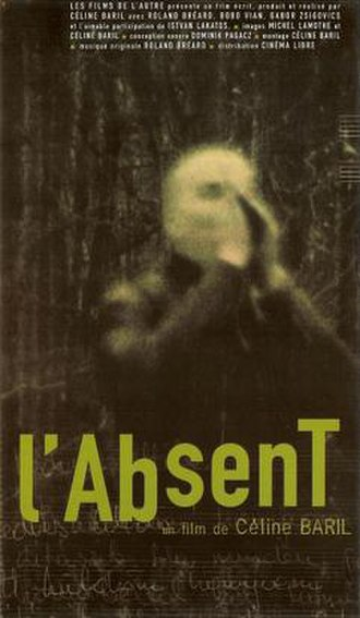 L'Absent - Theatrical release poster