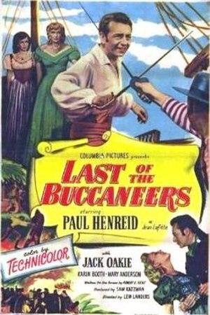 Last of the Buccaneers - Image: Last of the Buccaneers poster