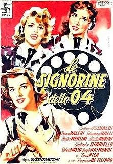 <i>Le signorine dello 04</i> 1955 film by Gianni Franciolini