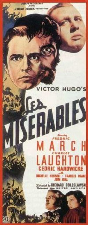 Les Misérables (1935 film) - Original film poster